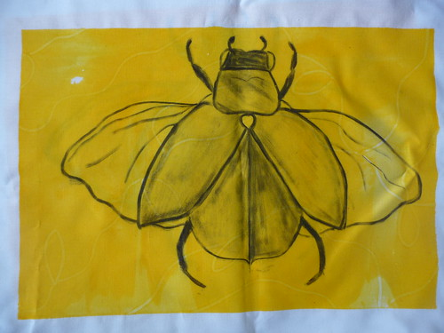 Beetle Screen Print