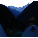 Inca Trail first night campsite