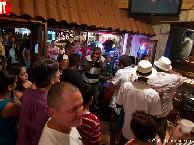 REAL Cuban music in Little Havana