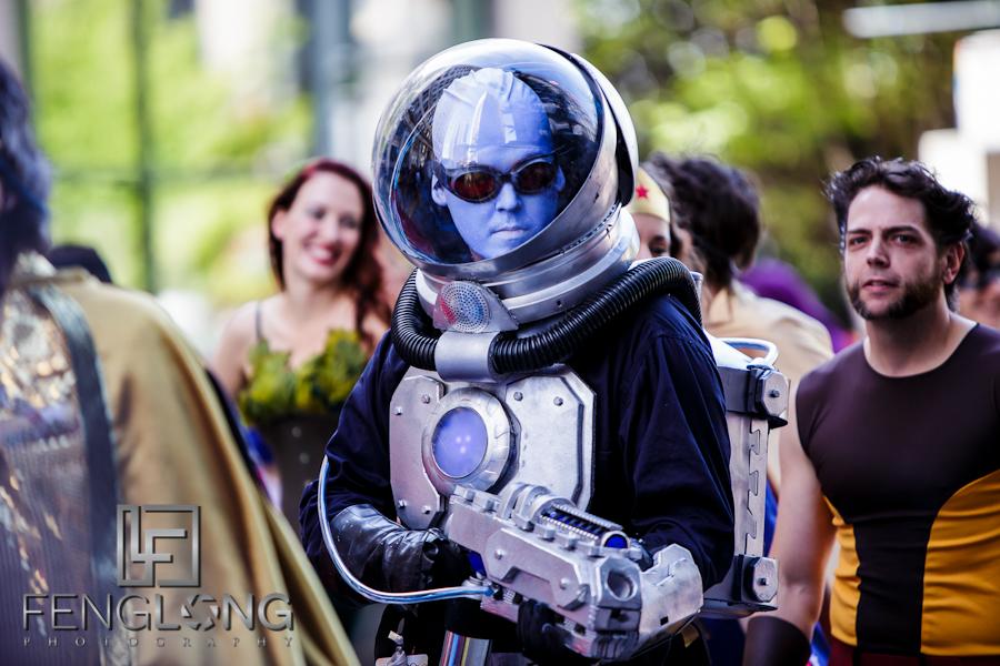 Mr. Freeze | Dragon*Con Parade 2012 | Atlanta Event Photographer