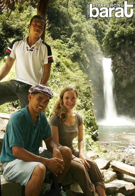 Batad, Ifugao hiking buddies in Tappiya Falls
