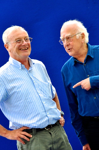 Frank Close & Peter Higgs
