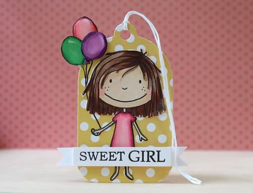 sweet girl by L. Bassen