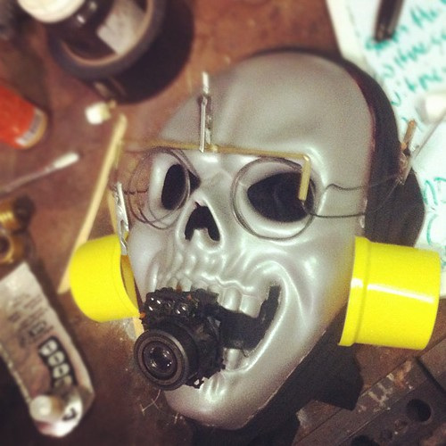 Witness mask #drabfuture