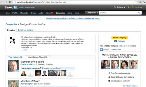Sveriges Kommunikatörer på LinkedIn