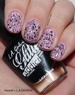 L.A.Girl Glitter Addict #956