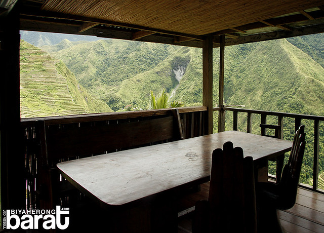 batad pension house dining with a view