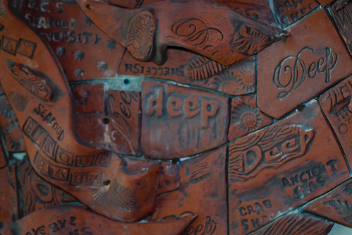 Kelp Sculpture by Fran Benton detail 6