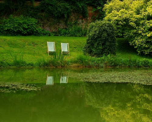 20120831-17_Upton House Gardens - Small Pond Reflections by gary.hadden