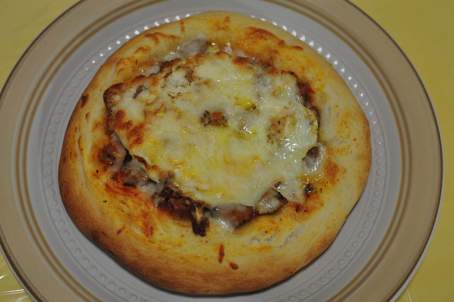 meat and egg pizza 11