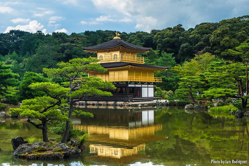 Kinkakuji en Kioto, imprescindible en un itinerario básico por Japón