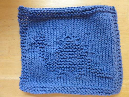 Stegosaurus Dishcloth