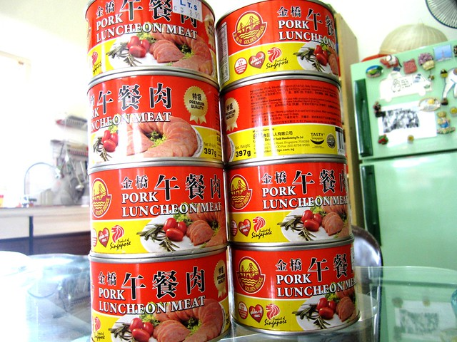 Singapore-made luncheon meat 1