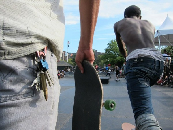Afropunk Festival 2012, Commodore Barry Park, Brooklyn: Skate