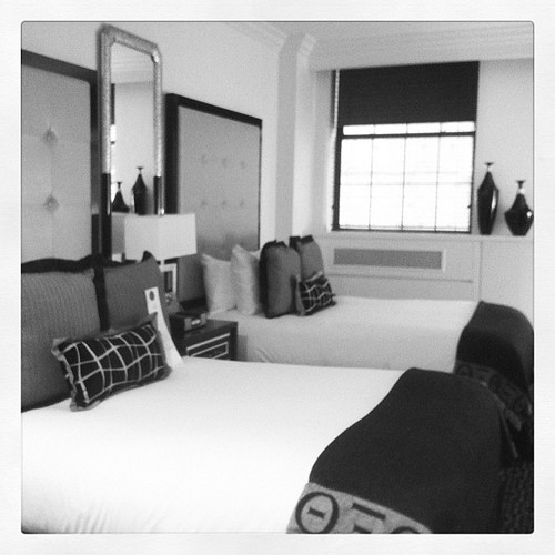The posh Muse hotel on Times Square #nyc