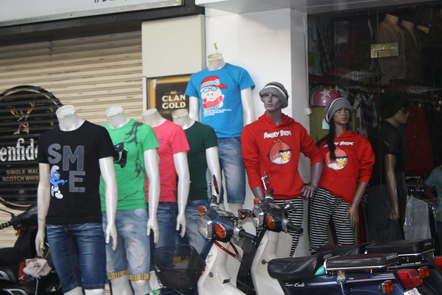 Angry Birds Mannequins Cambodia