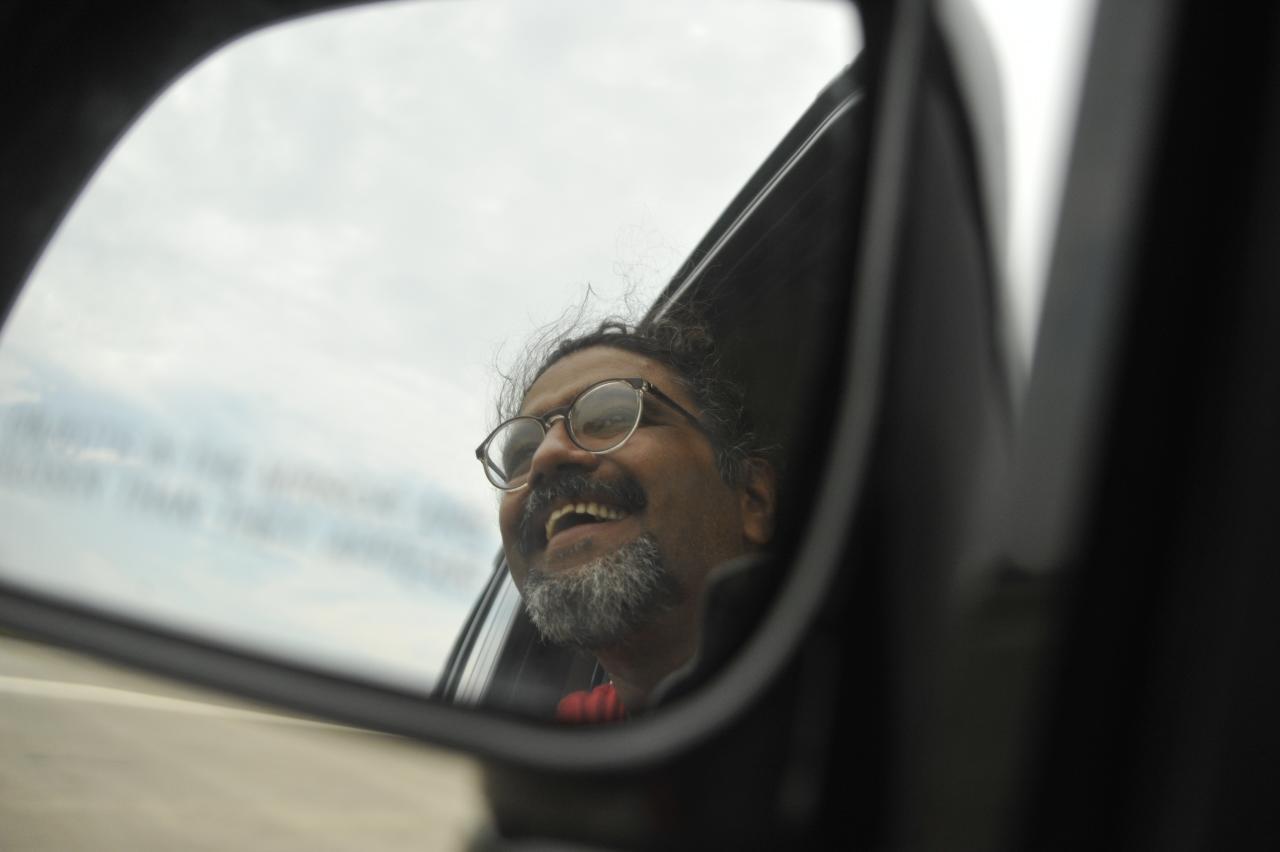 I enjoyed the speeds, sights, breezes and rains, as we traveled