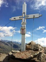 Gipfelkreuz Lenkstein 3.237 m