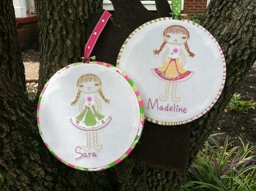 august stitch along 2012: the sisters