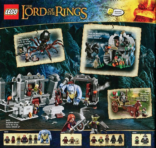 Katalog 2012-2: The Lord of the Rings