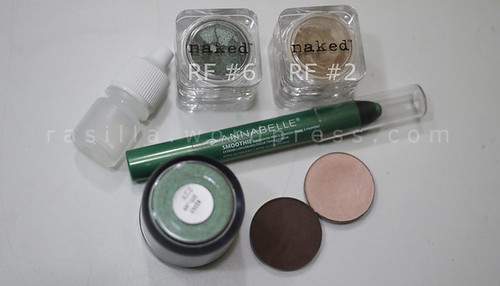 Looks using Naked Cosmetics