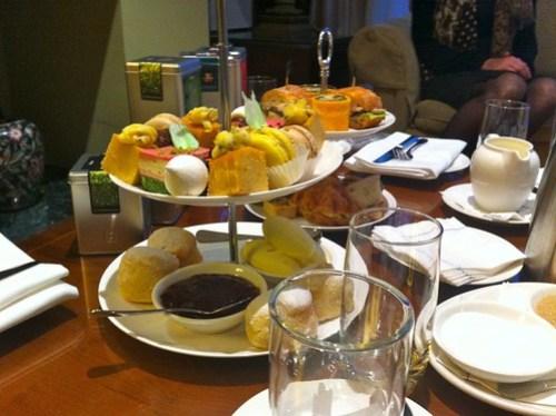 High tea with Dilmah founder & son