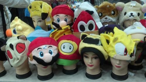 Hats at Baltimore Comic-Con 2012