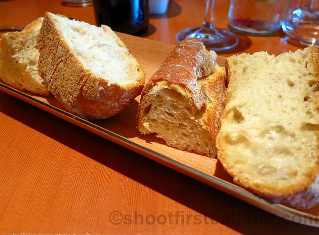 Bistró Guggenheim Bilbao - homemade bread