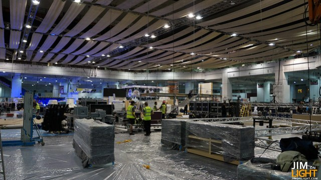 build up at PLASA 2012