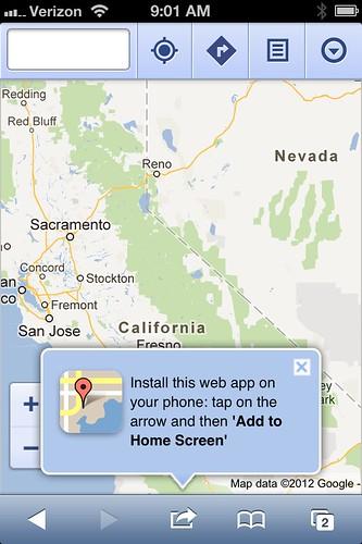 Google Maps iOS6