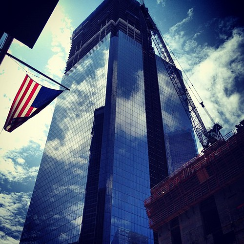 Reconstruction of the One World Trade center