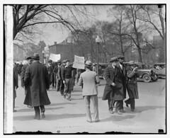 Blacks, Whites Protest Job Losses: 1930 No. 2