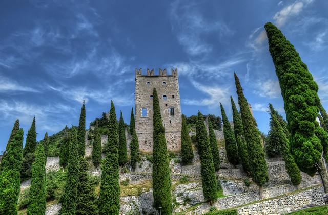 Castello di Arco di Trento.