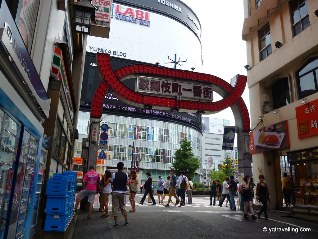 Kabukicho in the day