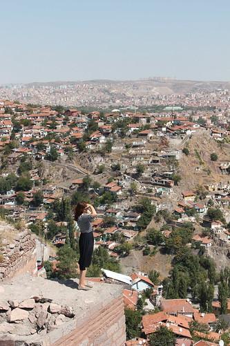 Looking over Ankara