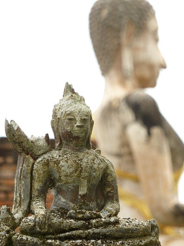 Buddha statues at Sukhothai