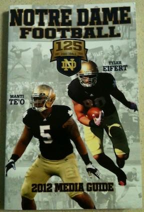 2012 Notre Dame Media Guide
