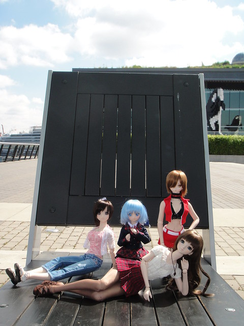 Saya, Cirno, MEIKO and Annalise