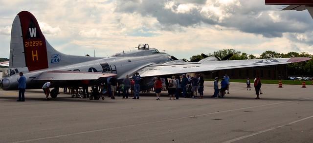 B-17, from Rear