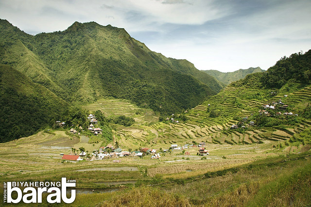 Batad Rice Terraces Ifugao Amphitheater shape