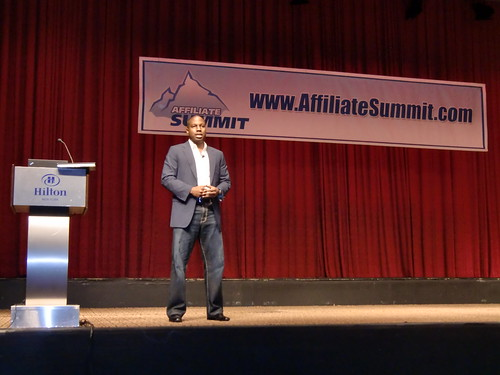 Ntiedo (NT) Etuk Keynoting Affiliate Summit East 2012