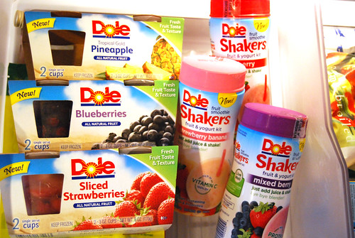 Dole Fruit Cups and Shakers
