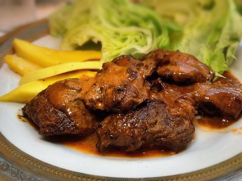 Jamaican Roasted Lamb at Sunny Spot