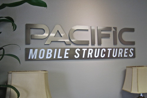 Pacific Mobile Structures Lobby Logo