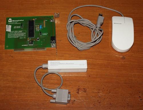 Microsoft InPort Mouse - Whole kit