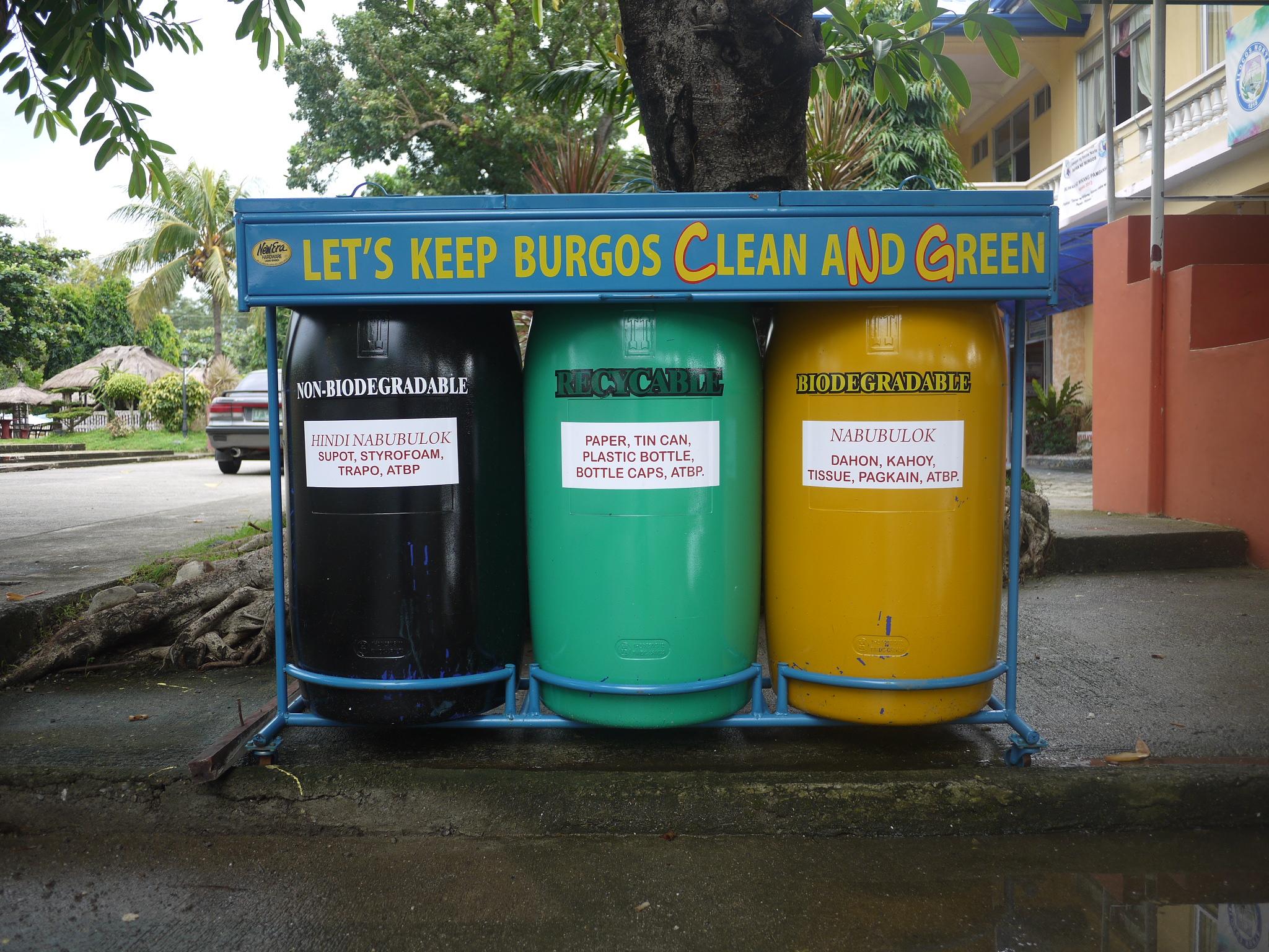 Waste Segregation seen in Burgos