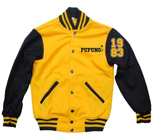 Mens (P1695) and Ladies (P1595) varsity jacket