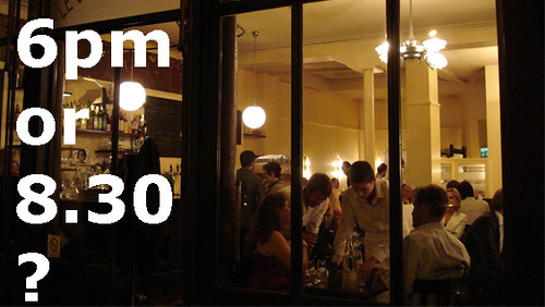 Restaurant Gripes 2 sittings