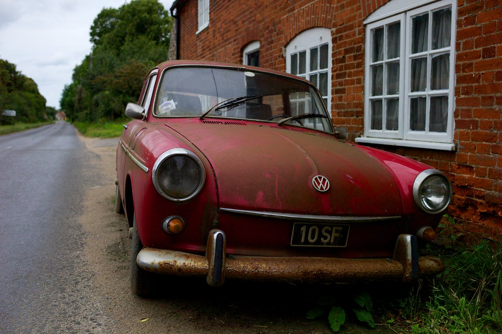 Old red VW