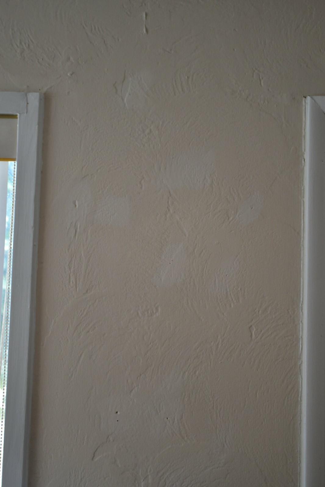Mismatched touch up paint.